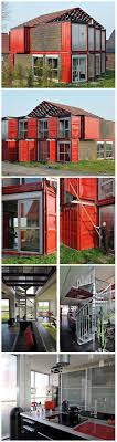 Spacious Container House Made of 8 Shipping Containers
