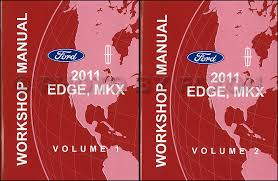 2011 ford edge lincoln mkx wiring diagram manual original 2011 ford edge and lincoln mkx repair shop manual original 2 volume set 159 00