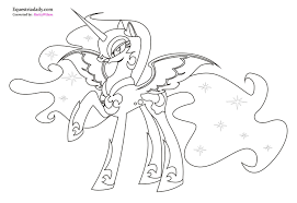 Pin By Dolly Rolke On Mlp My Little Pony Coloring Moon Coloring