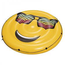 <b>Bestway</b> Надувной круглый <b>матрас для плавания</b> Смайл ...