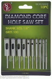 7 16 drill bit. image is loading 10pc-100-grit-diamond-core-hole-saw-set- 7 16 drill bit g