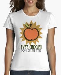 camiseta bioshock eve s garden apple chica