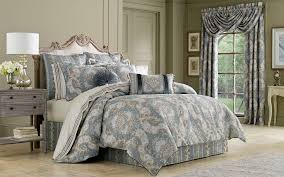 sets j queen bedding crystal palace french blue