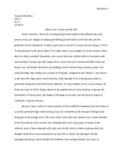 soc essay in the movie mean girls cady heron and her parents  6 pages soc 2 essay 3