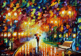 leonid afremov oil on canvas palette knife original paintings art famous artist biography official page gallery figures forest autumn