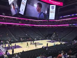 Golden 1 Center Basketball Seating Chart Golden 1 Center Section 122 Sacramento Kings