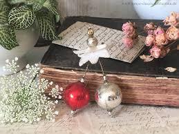 Außergewöhnlicher Christbaumschmuck Silberne Und Rote Kugel