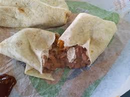 taco bell bean burrito.  Bean Bean Burrito From Taco Bell In Wilmington DE AMAZING And