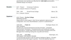 Computer Science Skills Resume Computer Science Internship Resume ...