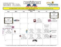 Calendar 2013 Through 2015 September Through December Calendar Of Events Play Melbourne