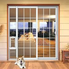 sliding glass door petsafe pet door