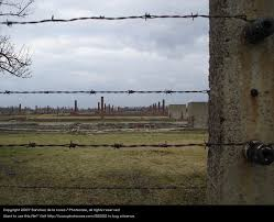 barbed wire fence concentration camp. Derelict Monument Landmark Barbed Wire Fascist Concentration Camp Auschwitz-Birkenau National Socialist Fence A