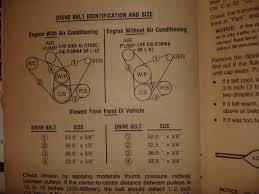 drive belts and routing diagram for l corvetteforum do you happen to have an owner s manual in my 78 it shows the configuration and gives the belt sizes
