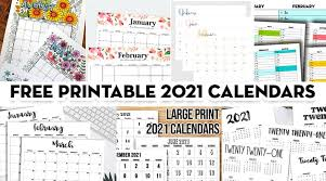 Download at keeping life sane. 20 Free Printable 2021 Calendars Lovely Planner