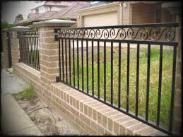 solid metal fence panels. Full Size Of Fence Design Wonderful Metal Fencing Ideas Solid Modern Brick Fences Simple Wooden And Panels E