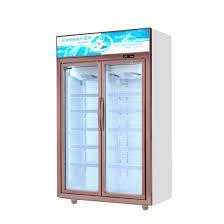 dynamic cooling vertical double door freezer