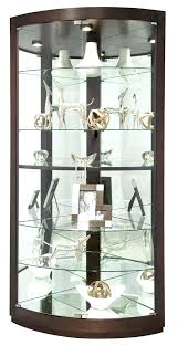 small wall curio cabinet curio cabinet with glass door furniture clever black corner curio cabinets with
