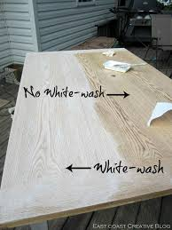 white washed dining room furniture. East Coast Creative: Refinished Dining Room Table {Furniture Makeover} White Washed Furniture B