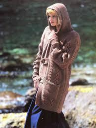 Pdf Digital Download Vintage Knitting Pattern Ladies Girls Long