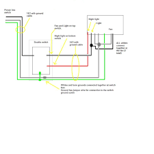 bathroom ventilation fan wiring diagram ceiling fans lights install fan like expert