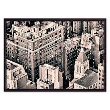 <b>Постер в рамке</b> Над Манхэттеном 30 х 40 см <b>Дом</b> Корлеоне ...
