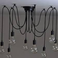 classic pendant lighting. Vintage Nordic Spider Pendant Lamp Multiple Adjustable Retro Lights Loft Classic Decorative Fixture Lighting Led Home-in From