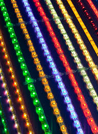 brightly colored led strip lights