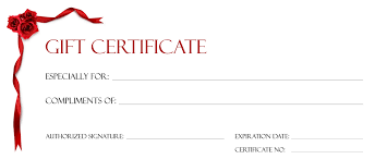 blank gift certificate awesome makeup gift certificate template gallery templates exle free