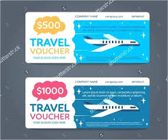 travel voucher template free vacation gift certificate template free travel monster