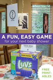 Guess Who? A Fun, Easy Baby Sprinkle Game