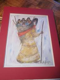 ettore degrazia ho ok the witch steals children collects them in her basket