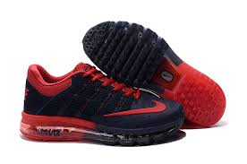nike running shoes for men black and red. air max 2016 nike men\u0027s running shoes black red for men and
