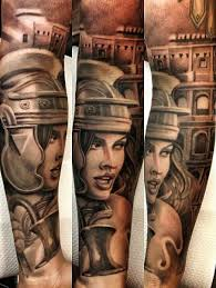 Gladiator Girl Chicano Tattoo Best Tattoo Ideas Gallery