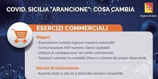 Sicilia in zona arancione fino al 15 gennaio: negozi aperti -  Confartigianato Imprese Sicilia