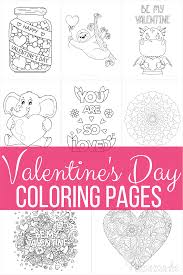 Valentine's day coloring pages are fun, but they also help kids develop many important skills. 50 Free Printable Valentine S Day Coloring Pages