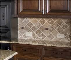 Large Tile Kitchen Backsplash Kitchen Contemporary Kitchen Backsplash Ideas With Dark Cabinets