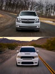 Head to Head: 2018 Dodge Durango SRT v. Chevy Tahoe RST