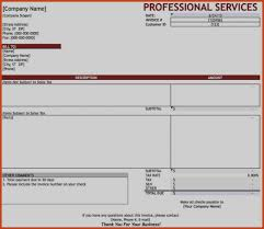 Good Consulting Services Invoice Template Excel Format Doc Word