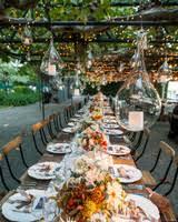 outdoor wedding lighting decoration ideas. Outdoor Wedding Lighting Ideas From Real Celebrations. Choose A Slide.  Lights With Big Bulbs Outdoor Wedding Lighting Decoration Ideas G