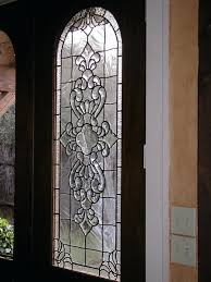 beveled and clear textured glass patio door panels doors french interior bevel