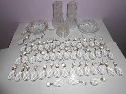 antique chandlier crystal maria theresa original spare parts crystal hanging drip tray