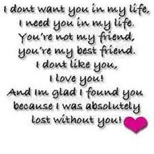 I Love My Best Friend Quotes Simple I Love My Best Lover Ordinary Quotes