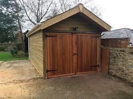 brentwood garage doorCedar Garage Door Side Hinged The Brentwood