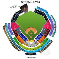 Nationals Stadium Seating Chart With Rows Abundant Washington Nationals Seat Map Baseball Stadium