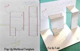 Popup Book Template Paper Engineering