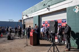 Attorney for president trump, rudy giuliani speaks to the media at a press conference held in the back parking lot of four seasons total landscaping on november 7, 2020 in philadelphia, pennsylvania. Four Seasons Total Landscaping Doc To Explore Giuliani Press Conference Site