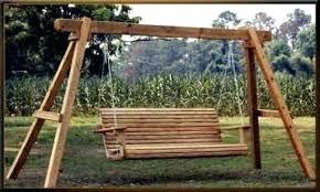 outdoor swing set plans free wood
