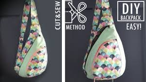 Sew Inappropriate Designs Fantastic Design Diy Backpack Cut Sew Way Without Difficult Pattern Backpack