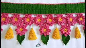 Images Of Designer Torans Crochet Flower Toran Crochet Flowers Flowers Crochet