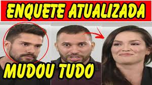 BBB 2021 : Enquete UOL ATUALIZADA Já define quem sai HOJE do BBB  21,Acrebiano, Juliette ou Gilberto - YouTube